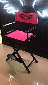 Стілець візажиста для макіяжу чорний (стілець для Візажу)