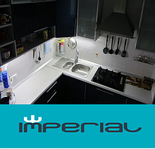 Врізні мийки з нержавіючої сталі Imperial