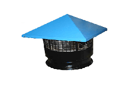 Вентилятор крышный центробежный радиальный ТурбовентКВЦ 1 R 2 E 225-AQ 05-05