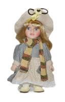 Кукла фарфоровая Шана 20см