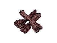 Вощенный шнур, 5 метров Коричневый