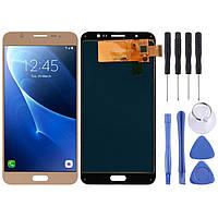 Модуль, тачскрин, сенсор Samsung Galaxy j7, j710, j710h, j710m, Gold