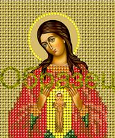 Схема для вышивки бисером Икона Богородицы _Помощница в родах КМИ 6032