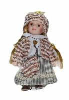 Кукла фарфоровая Софи 20см