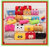 Разнообразные сувенирные подушки игрушки с Вашим логотипом (от 100 шт)
