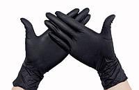 Перчатки SafeTouch Advanced BLACK M (буз пудры) Medicom