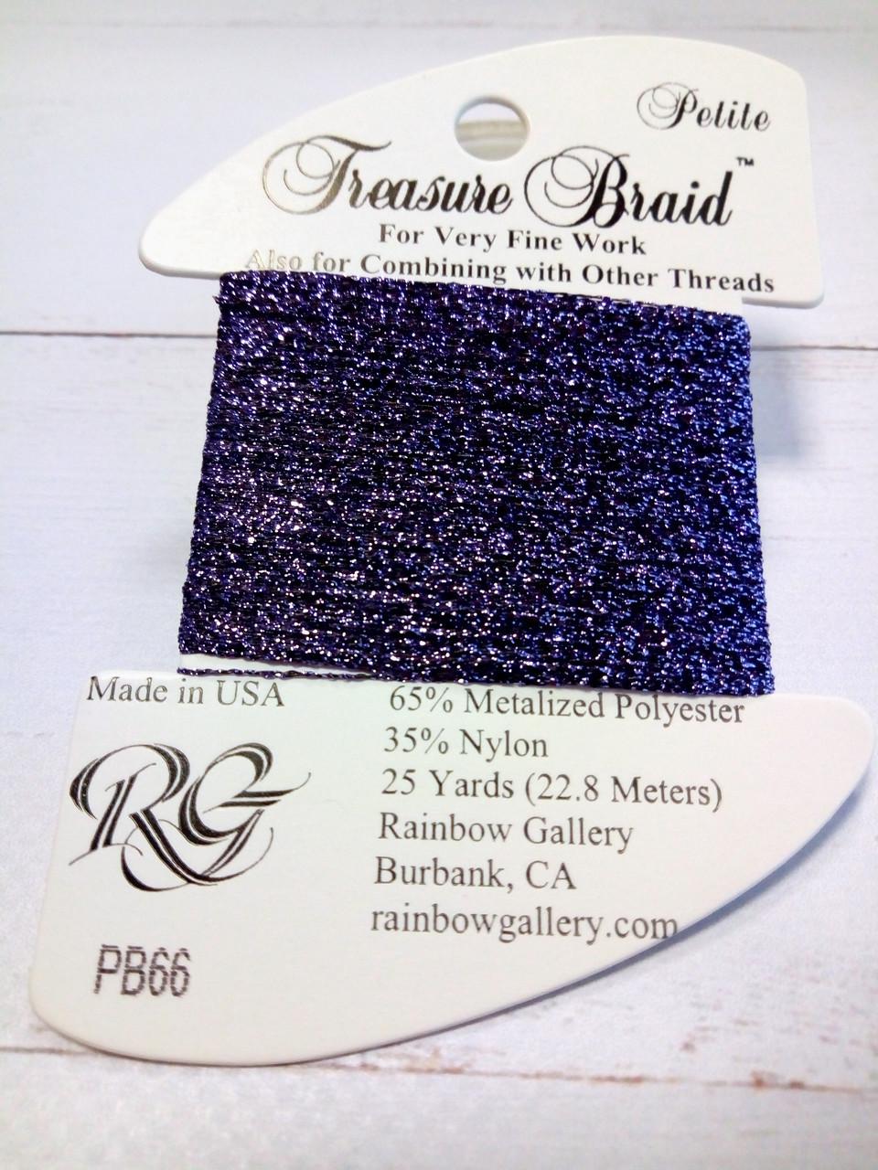 Нитка TREASURE Braid Rainbow Gallery