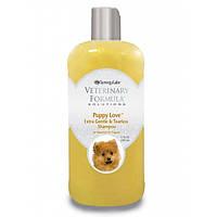 Veterinary Formula Puppy Love Shampoo нежный шампунь для щенков от 6 недель, без слез, без сульфатов