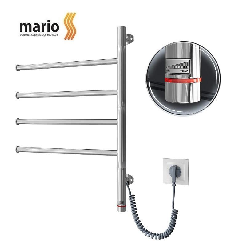 Полотенцесушитель электрический MARIO Веер HP-I 600x445 поворотный