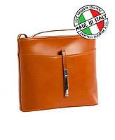 Итальянская кожаная сумка для женских мелочей Vera Pelle