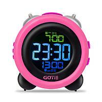 Электронный будильник GOTIE GBE-300R (розовые)