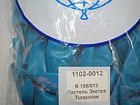 """Воздушные шары Belbal пастель 12""""(30 см) бирюзовый 50 шт"""