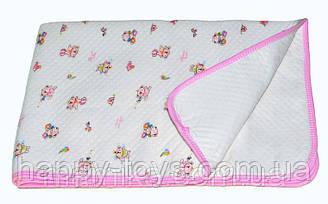Пеленка влагонепромокаемая   Lindo 50*70 см Розовая
