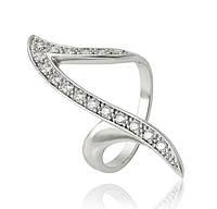 Женское кольцо XP Модное, размер кольца 20 родиевое покрытие