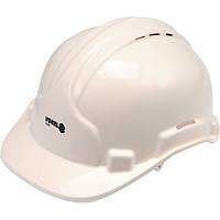 Каска для защиты головы VOREL белая, V-74190