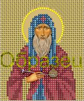 Схема для вышивки бисером Св.Преподобный Агапит, врачь Печерский КМИ 6036