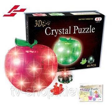Crystal Puzzle 3D головоломка Яблоко