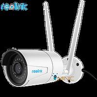 Уличная камера видеонаблюдения Reolink RLC-410W 4MP 1080P 2.4/5 GHz WiFi водонепроницаемая, фото 1