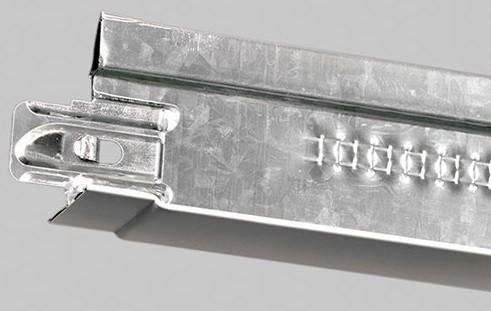 Профиль основной 3700мм Cipriani teetanium