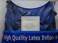 """Воздушные шары Belbal пастель 12""""(30 см) темно-синий 50 шт, фото 1"""