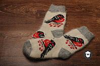 Шерстяные носки, носки из козьего пуха, теплые носки, зимние носочки на резинке