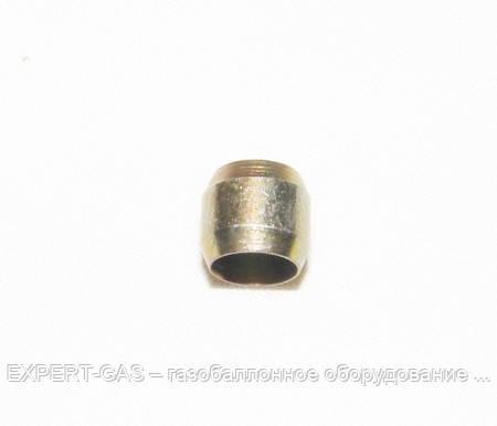 Ниппель (бочонок) D6, сталь.метан