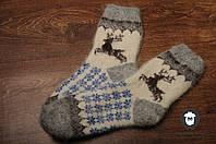 Шерстяные носки на резинке, носки из козьего пуха, теплые носки, зимние носочки