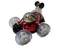 Машинка на радиоуправлении перевёртыш на р/у мини cool lamp (lx9082) с аккум. (красный)