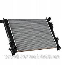 Радиатор системы охлаждения на Рено Доккер 1.5dci, 1.6i 8V / RENAULT (Original) 214107326R