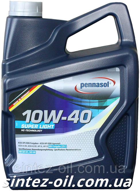 Масло моторное PENNASOL Super Light SAE 10W-40 (5л)