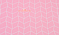 Сатин (хлопковая ткань) розовая геометрия, фото 2
