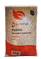 Пеллеты древесные 6 мм. ( в упаковке 15 кг)