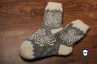 Шерстяные носки, носки из козьего пуха, теплые носки, зимние носочки, фото 1