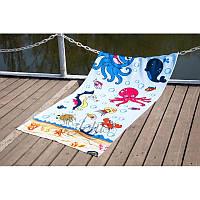 Полотенце Lotus пляжное - Sea World 75*150 велюр (2000022173810)