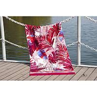 Полотенце Lotus пляжное - Paradise Fusya 75*150 велюр (2000022173834)