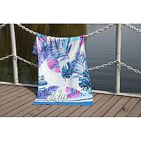 Полотенце Lotus пляжное - Paradise Mavi 75*150 велюр (2000022173841)