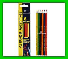 Цветные карандаши Marco 6 цветов