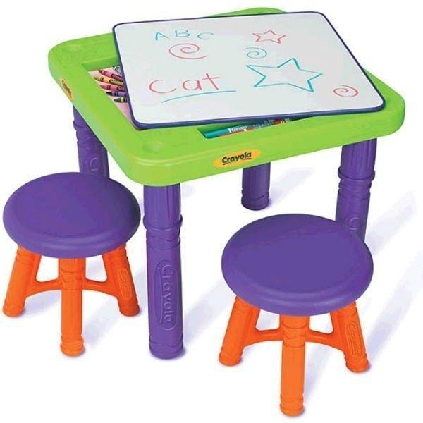 Стол с двумя стульчиками Crayola Grow'n up