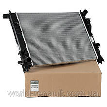 Радиатор системы охлаждения на Рено Доккер 1.5dci, 1.6i 8V / RENAULT (Original) 214100078R