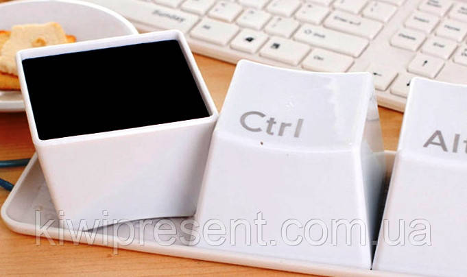 Чашка (кружка) Ctrl Alt Del (набор 3 шт)
