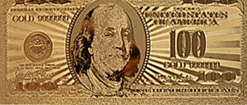 Доллар золотой