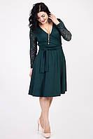 Платье женское с декольте