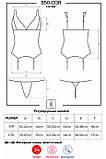 Комплект -  Obsessive 850-COR-6 corset, фото 5