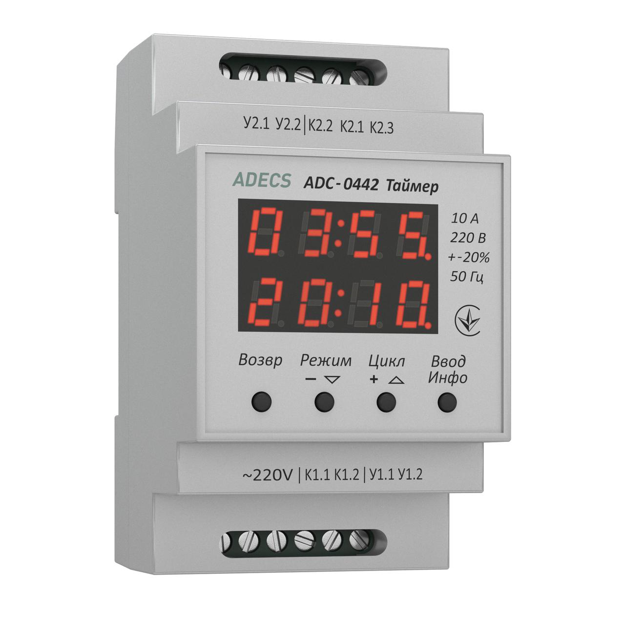 Таймер циклический (реле времени) ADC-0442
