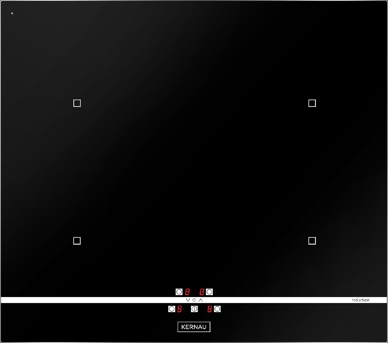 Варочная поверхность индукционная Kernau KIH 64.1