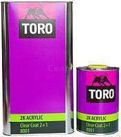 Лак TORO 8001 2К MS 1Л (комплект)