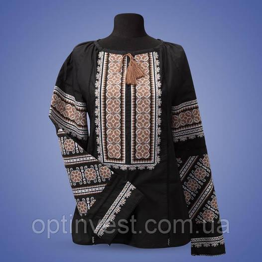 """Блуза вишиванка """"Квіткове поле"""" із натуральної тканини"""