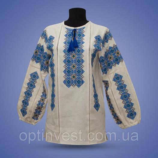 "Блуза  вышиванки ""Дарья"" лен"