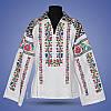 """Блуза вишиванка з коміром  """"Верховина"""" , фото 2"""