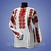 """Блуза  вышиванки """"Дарья"""" домотканное полотно"""